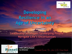 resilience_WIC